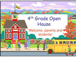 Open House Powerpoint 4th Grade Open House