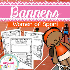 Womens History Month Activities Women Of Sport Classroom Banners