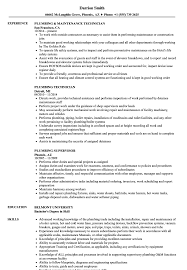 Plumber Resume Plumbing Resume Samples Velvet Jobs 21