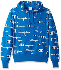 Champion Life Mens Reverse Weave Pullover Hoodie All Over Print