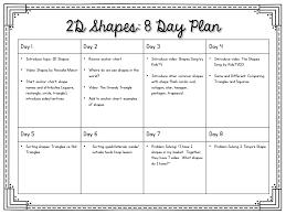 2d Shapes Anchor Chart 2 D Shapes Lessons Tes Teach