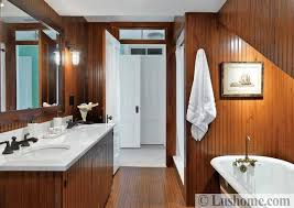 Rustic bathroom design White Bathroom Design Natural Materials Glass Shower Enclosure Best Interior Design How To Use Wood And Stone For Charming Rustic Bathroom Design