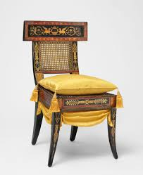 side chair ancient greek furniture