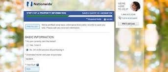 Nationwide Quote Inspiration Free Nationwide Homeowners Insurance Quote