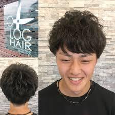 お洒落パーマ夏パーマ祭りだョメンズ集合 Log Hairログヘアー