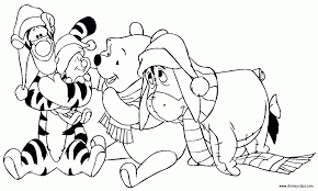 Small Picture Coloring Pages Disney Coloring Pages Christmas Disney Christmas