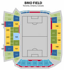 Clean Bmo Field Seating Chart Seat Number Soldier Field