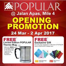 Popular Books Opening Promotion At Jalan Apas Mile 4 Tawau