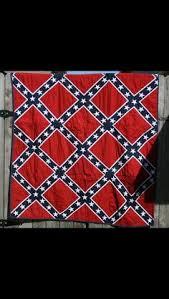 Handmade confederate flag quilt $500 00 | Crafts | Pinterest ... & Rebel flag bandanna quilt Adamdwight.com