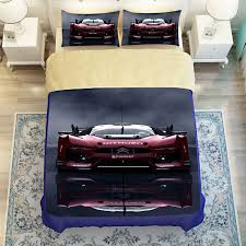 queen size car beds blue and red 3d print race car bedding set twin queen king size high