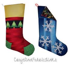 Christmas Stocking Sewing Pattern Inspiration Free Christmas Stocking Sewing Pattern