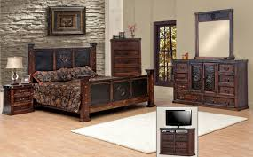 rustic king bedroom set. rustic casual contemporary 6 piece queen throughout king bedroom set n