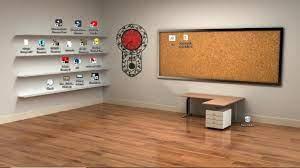 3D Classroom Desktop wallpaper for ...