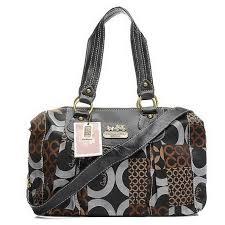 Coach Fashion Logo Large Black Luggage Bags EHZ