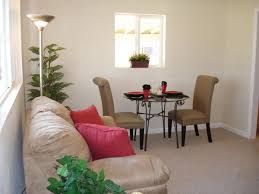 very small living room dining room combo
