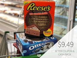 great deals on carvel reese s or oreo ice cream cake save 5 50 at publix on