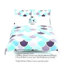 mermaid bedding mermaid bedding full set duvet cover aqua mint purple comforter twin sheet mermaid bedding mermaid bedding