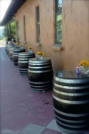 Reversible reclaimed wine barrel Reclaimed Half Wine Barrel Table Glass Top Table Wine Barrel Glass Top Cocktail Outside Wine Barrel Bar Table Wine Barrel Facil Furniture Wine Barrel Table Glass Top Reversible Reclaimed Half Wine Barrel