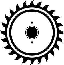 skill saw blade vector. saw, saw blade, about, circular wood, silhouette skill blade vector e