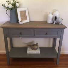 hallway furniture ideas. 100cm 2 drawer console french provincial grey hall table tv stand shelf ebay hallway furniture ideas