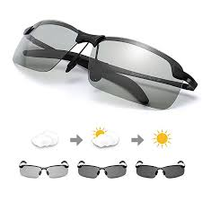 TJUTR <b>Men's Photochromic Polarized Sunglasses</b> for Driving ...