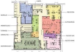 clinical laboratory floor plan design