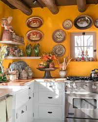 Image Oak Cabinets Peter Vitale Abode Kitchen House Beautiful 10 Yellow Kitchens Decor Ideas Kitchens With Yellow Walls