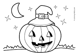 children s coloring book pages with free jack o lantern fun for