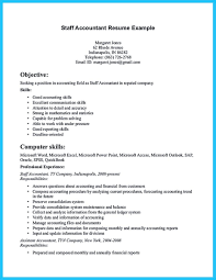 Staff Accountant Resume Sample nice Sample for Writing an Accounting Resume resume template 55