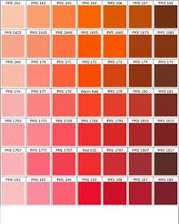 Pms Orange Color Chart Pin By Dana Palade On Culori Pms Color Chart Pantone