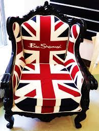 the famous ben sherman union jack chair
