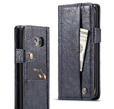 caseme samsung galaxy s7 edge retro slot cards wallet leather case