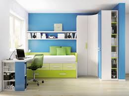 contemporary white blue corner wardrobe furniture for kids bedroom basic bedroom furniture photo
