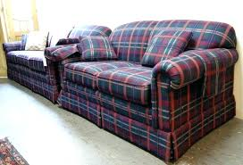 plaid sofa and loveseat sofas country com loveseats