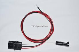 tpi tbi 3 wire heated oxygen o2 sensor wire harness adapter camaro does not apply
