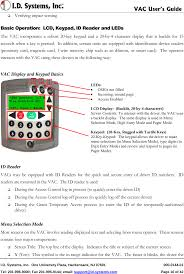 Vac02 Vehicle Asset Communicator User Manual 900-0144-Xx Users Guide ...