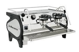 Black coffee machine 5 items; La Marzocco Espresso Machines Handmade In Florence Since 1927