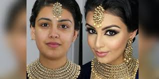bollywood inspired south asian bridal party makeup tutorial 2016 2017