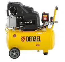 <b>Компрессор масляный Denzel</b> DK 1500/24 Х-PRO, 24 л, 1.5 кВт ...
