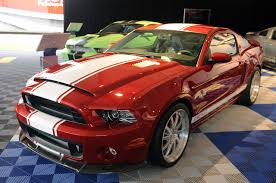 2013 Shelby GT500 Super Snake prototype debuts in Monterey ...
