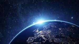 Wallpaper Stars, Galaxy, Lights, Earth ...