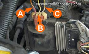 part how to test the gm ignition control module  ignition coil circuit descriptions