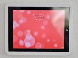 ipad 4 wall mount mount tablet mount
