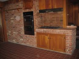 Exposed Brick Kitchen Kitchen Style Kitchens And Exposed Brick With More Furniture