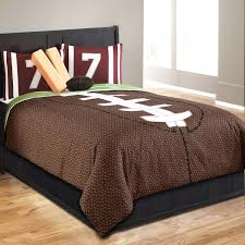 motocross comforter set brown football bedding twin full queen sports with pillows