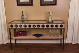 sofa table with wine storage. Outstanding Console Table With Wine Rack About Remodel Small White Uk Buffet Sideboard Storage Bins Tables And Racks Sofa Hutch Wire Side Iron Cabinet R