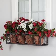 Flower Window Box Designs 20 Most Creative Metal Window Boxes Design For Flower Basket