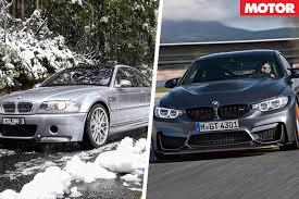 Sport Series bmw m3 2004 : 2017 BMW M4 GTS v 2004 BMW M3 CSL rev battle   MOTOR