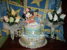 Baby Mickey Mouse  EtsyBaby Mickey Baby Shower Cakes