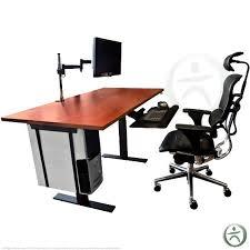 ergonomic office design. Awesome Design Ideas Ergonomic Desks Stylish Decoration The UpLift Complete Standing Desk Is A Total Office